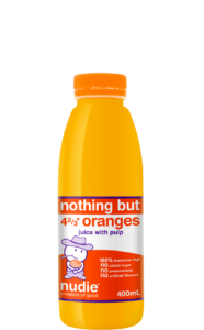 400ml Nothing But Oranges With Pulp