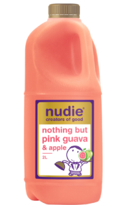 Nudie Pink Guava Apple 2L Front Label