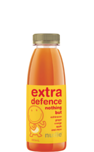 Nudie Extra Defence 400ml Juice Front Label