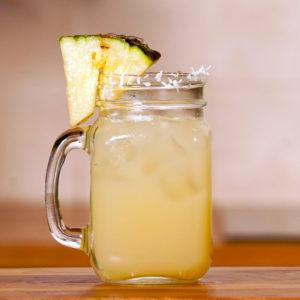 Fresh Pineapple Juice Cocktail