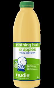 Nudie Cloudy Apple Juice 1 Liter