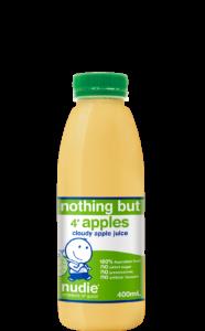Nudie Cloudy Apple Juice 400mL