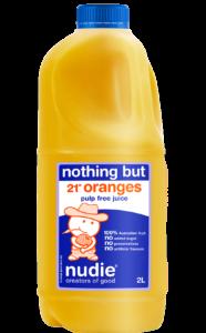 Nudie Orange Pulp Free 2L