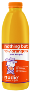 Nudie Orange With Pulp 1L
