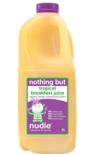 Nudie Tropical Breakfast Juice 2L