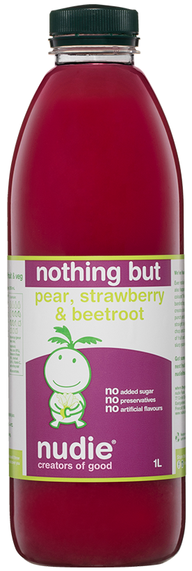 Nothing But Pear Strawberry and Beetroot